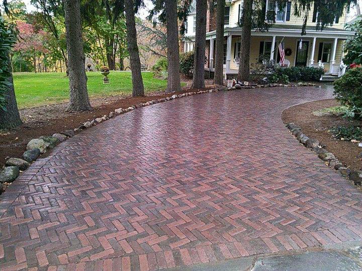 Brick Driveway Saddle river nj-720x540
