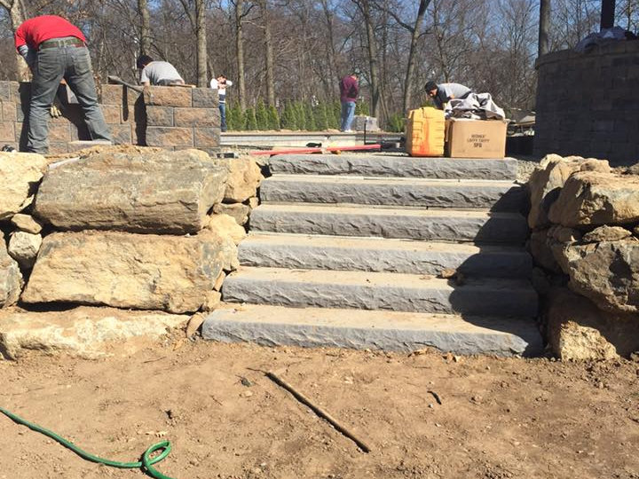 Pavers and waterfall and landscaping franklin lakes nj 2.5-720x540